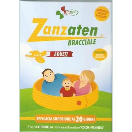BUDETTA FARMA - Bracciale Repellente Antizanzara Per Il Corpo Naturale Zanzaten Bracciale Adulti
