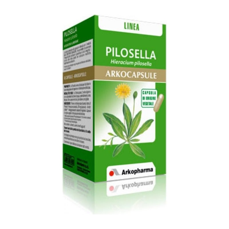 ARKOPHARMA - Pilosella Arkocapsule 45 Capsule - Integratore Diuretico E Depurativo Linea Drenante