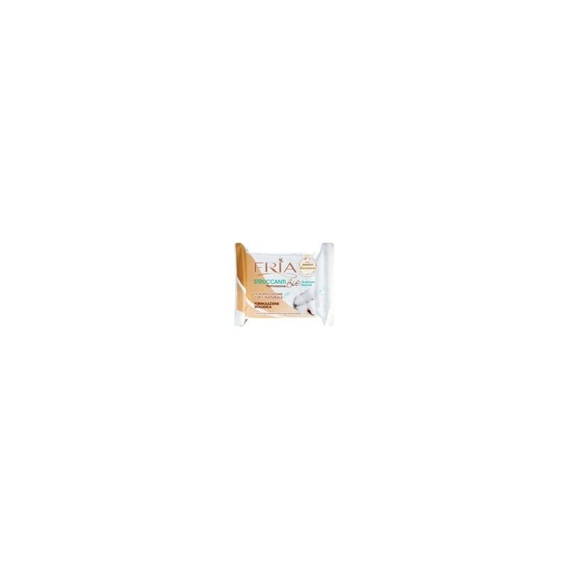 salviette struccanti biodegradabili formulazione biologica 1 confezione da 20 salviettine