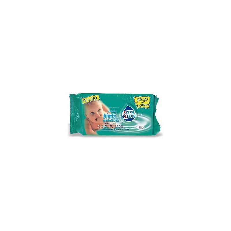 FRESH & CLEAN - Bimbi - 72 Salviettine antibatteriche