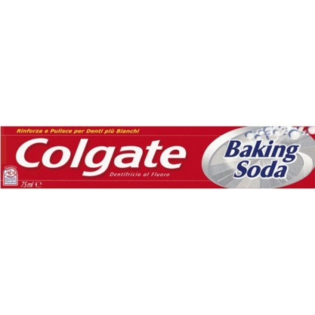 dentifricio baking soda con bicarbonato di sodio 75 ml