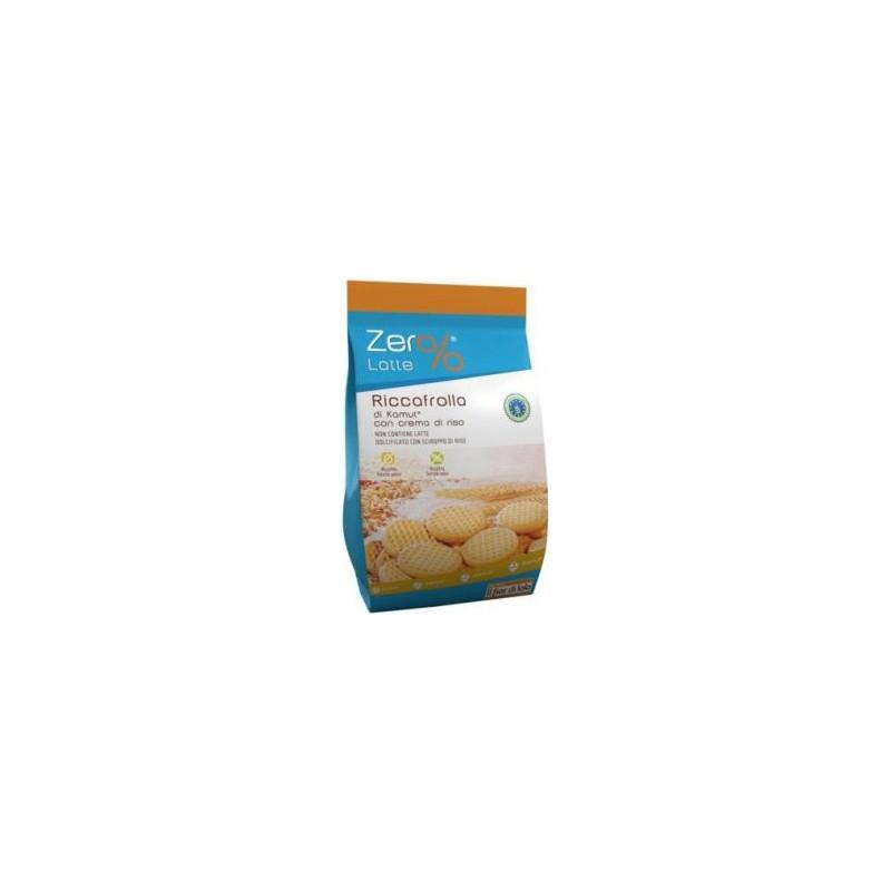 Fior Di Loto - biscotti zero latte riccafrolla di kamut con crema di riso