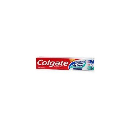 COLGATE - dentifricio triple action anticarie azione sbiancante e antimacchie in gel 75 ml