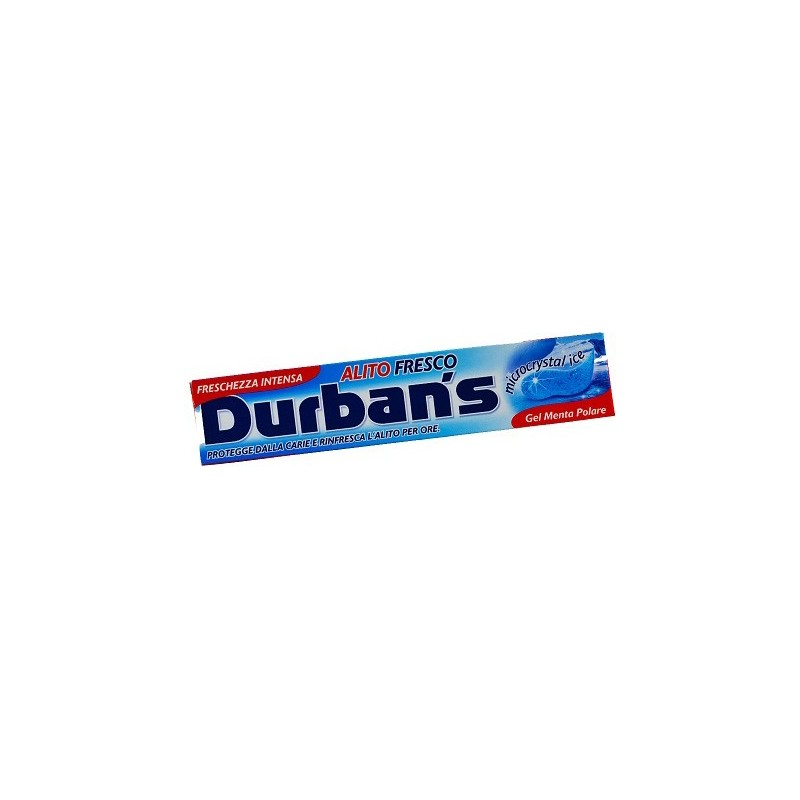DURBAN S - dentifricio alito fresco 75 ml