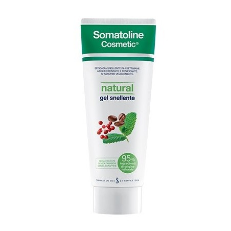 Natural Gel Snellente con 95% di ingredienti di origine naturale 250 ml