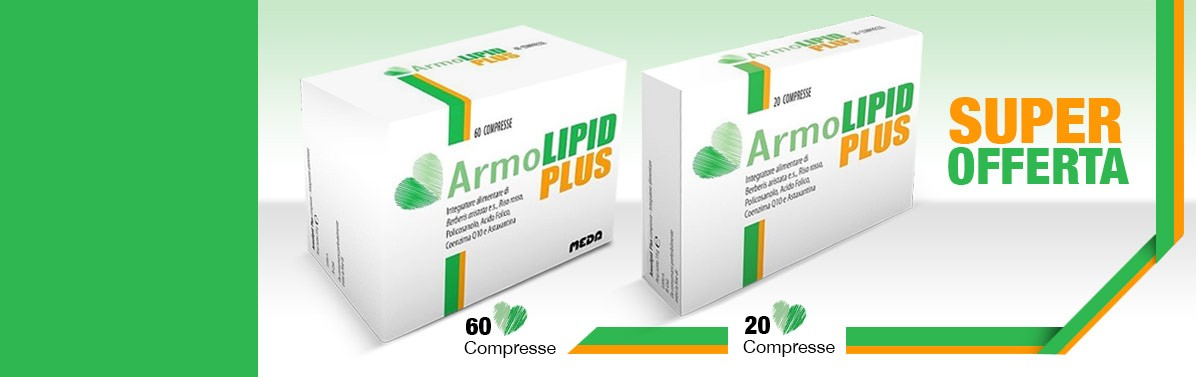 ARMOLIPID PLUS IN SUPER OFFERTA